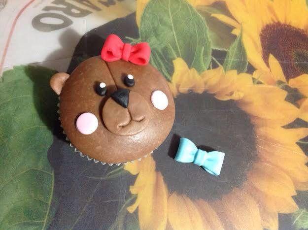 Cupcake orsetto