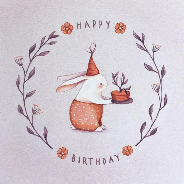 cute rabbit by Nina Stajner