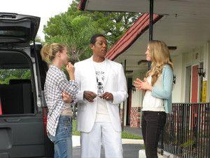 A.J. Cook, Orlando Jones and Sarah Carter in the scene of Regent Releasing 'Misconceptions.'