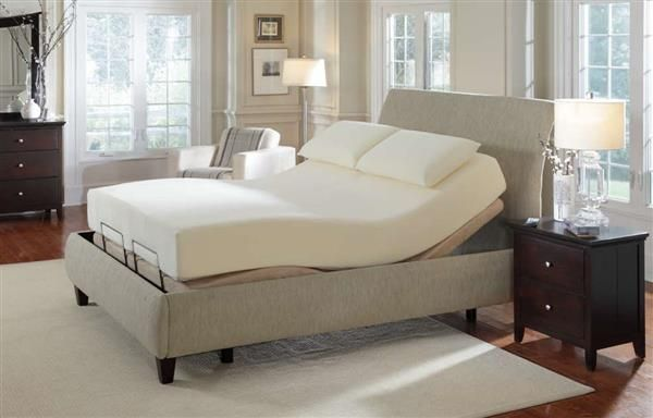 Premier Bedding Pinnacle Camel Twin Long Adjustable Massage Bed
