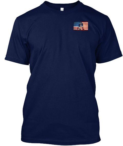 Pats Fan Loyalty  Navy T-Shirt Front