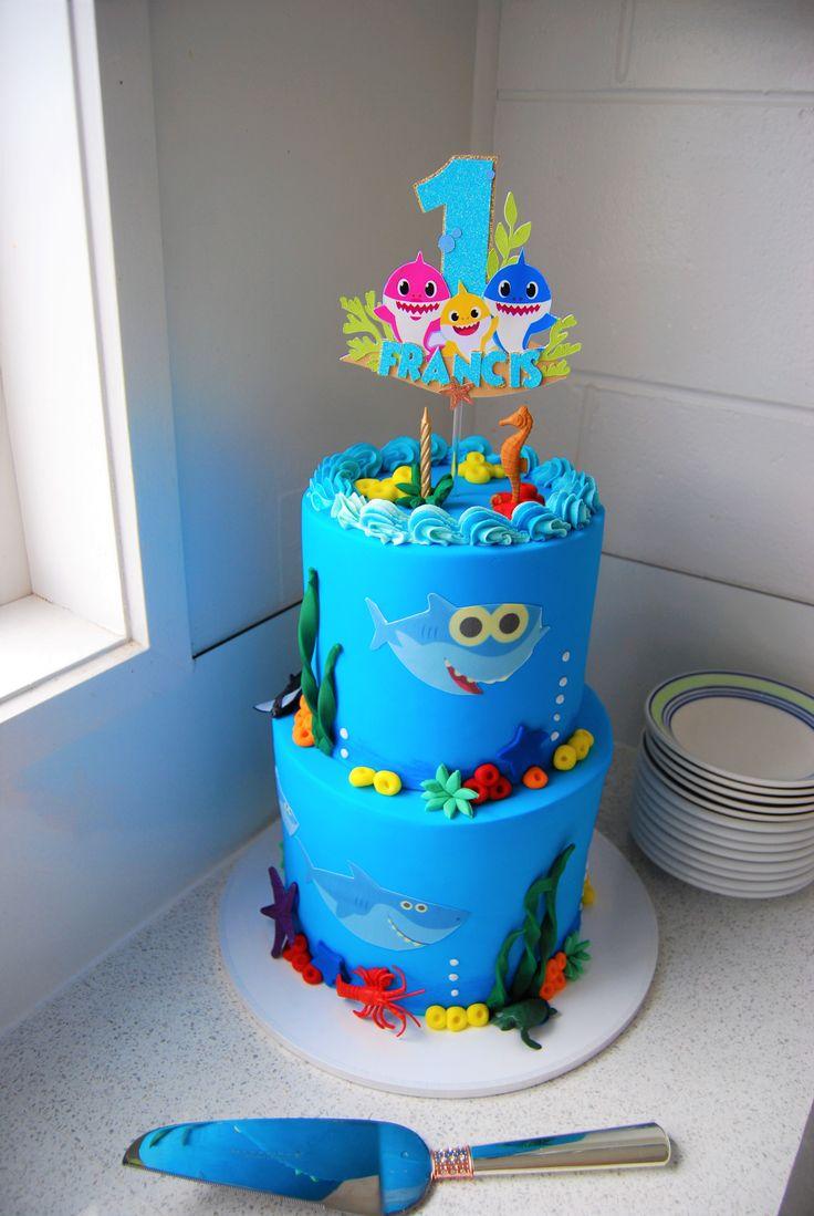 42++ Baby shark cake decorations nz ideas