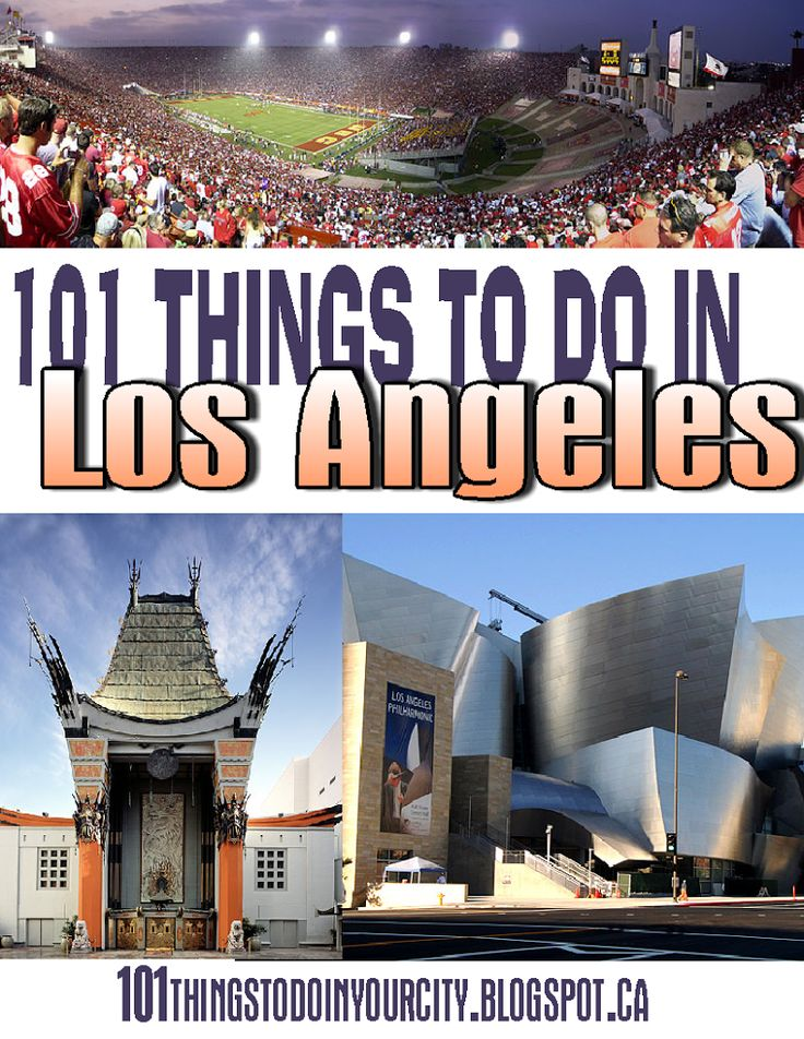 101 Things to Do in Los Angeles