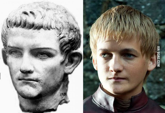 King Joffrey is just a reincarnation of Caligula circa 37 AD