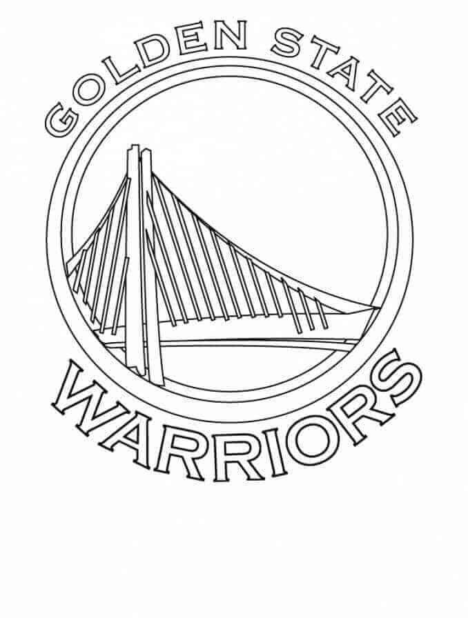 Printable Nba Coloring Pages Free Coloring Sheets Sports Coloring Pages Coloring Pages Golden State Warriors