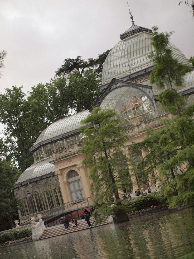 Madrid. Palacio de Cristal. Retiro.