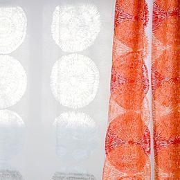 Backagårdskolan, Stockholm: Gardiner, design Rise Surprise i specialfarver
