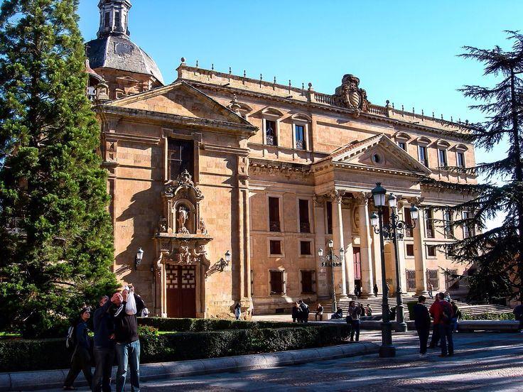 Palacio de Anaya e Iglesia de San Sebastian (Salamanca - Spain)