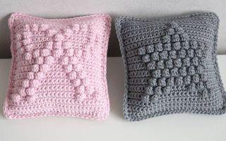 Coussins crochetés très déco...... CROCHET KNIT  INSPIRATION .... http://pinterest.com/gigibrazil/crochet-e-tricot-home/