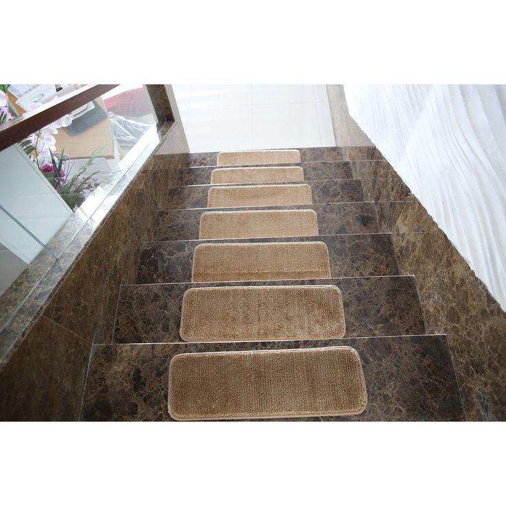 Ottomanson Ottomanson Softy Collection Contemporary Design Stair Tread Rug