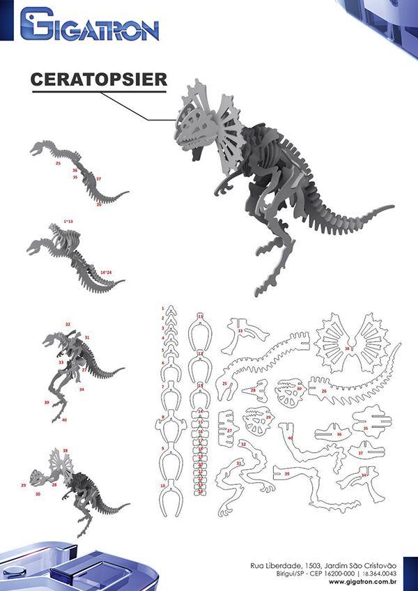 3d Puzzles Design For Cnc Machine Development Factory Puzzles De Madeira Animais De Cart 227 O