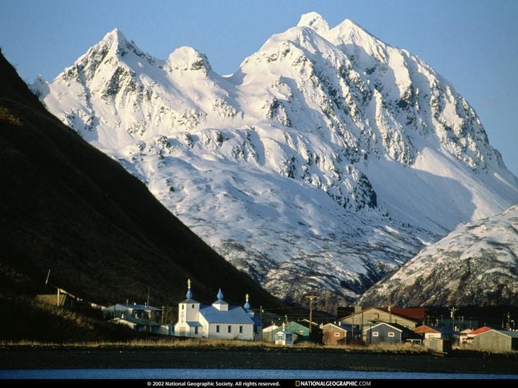 Außenposten des alten Hafens, Alaska