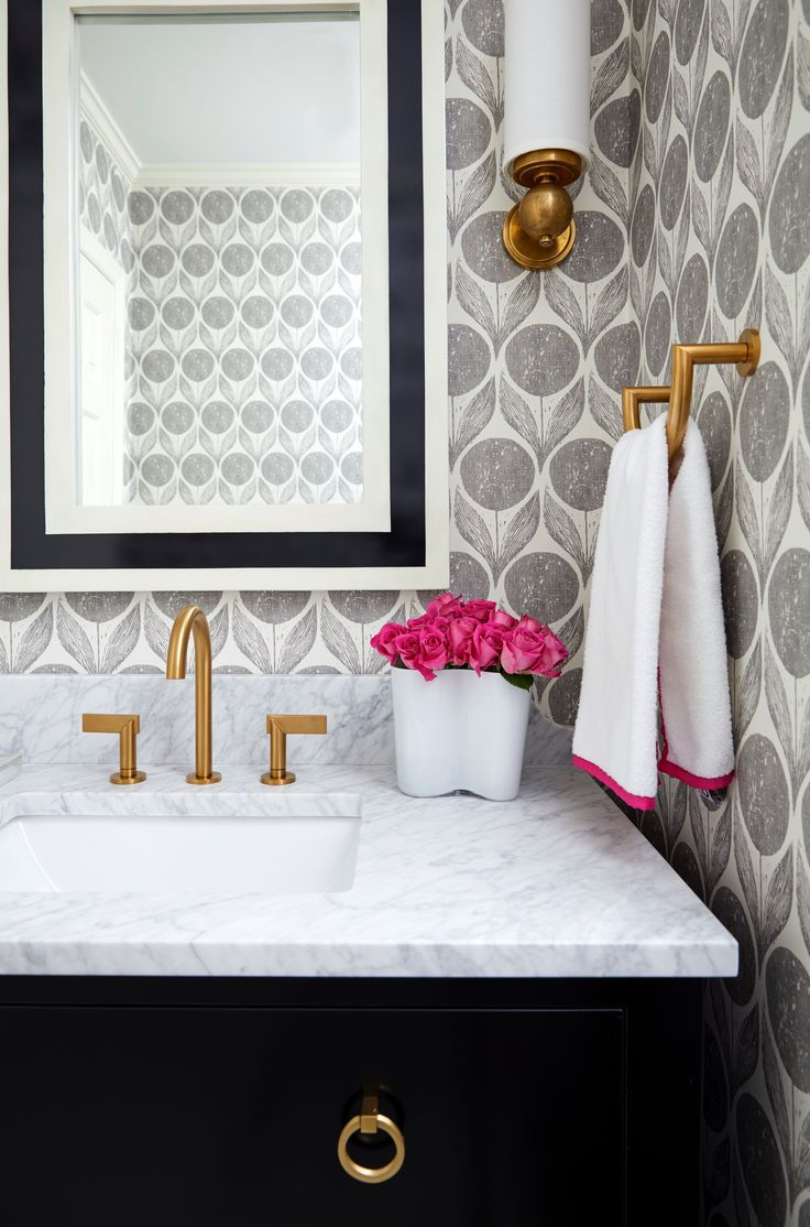 Bathroom | Powder Room | Wallpaper