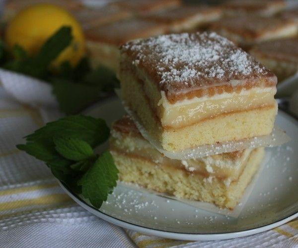 Лимонные пирожные - рецепт - как приготовить - ингредиенты, состав, время приготовления - Леди Mail.Ru