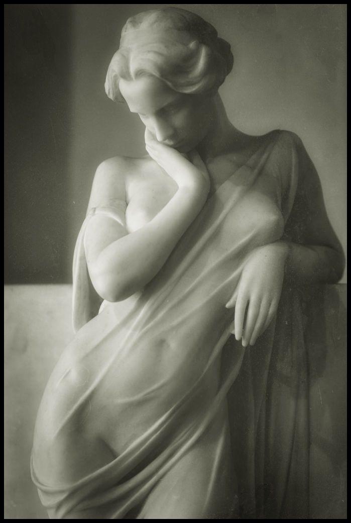 La Meditazione (Meditation) by Luigi Secchi (1853-1921)