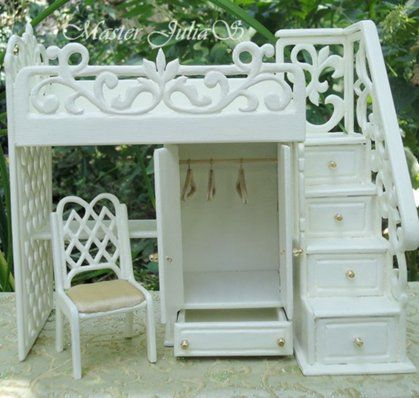 Tutorial: beautiful furniture for dolls - Page 4