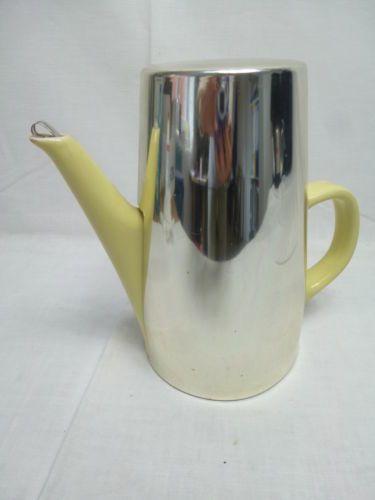 alte-Melitta-Kanne-mit-Thermohaube-Gelb-H-B20x12cm-gebraucht-S112-5