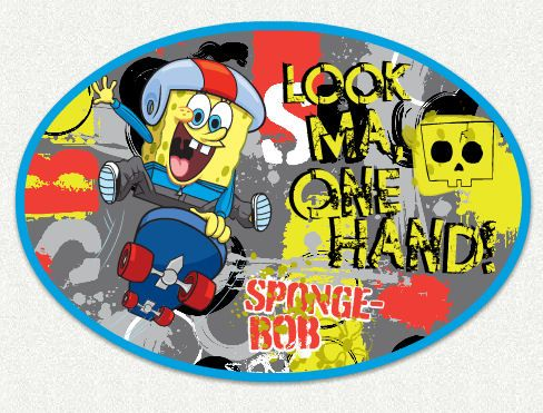 Sponge Bob No Hands Wall Decal   Wall Sticker Outlet