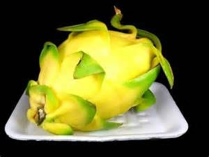 yellow dragon fruit | Exotic Fruits | Pinterest