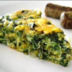 Crustless Spinach & Goat Cheese Quiche | Food i've made! | Pinterest