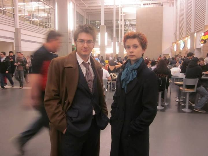 The Doctor and Sherlock catch up at Edmonton Expo 2013.