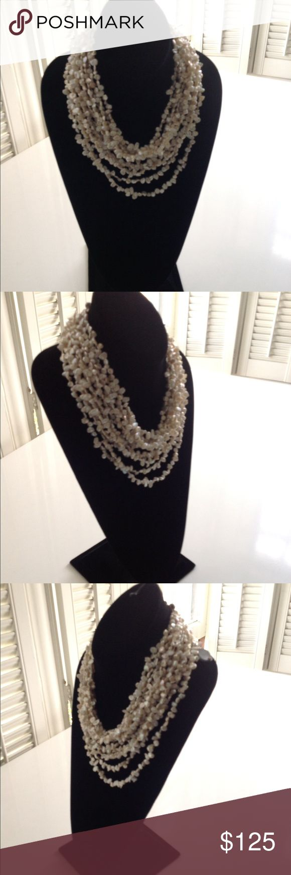 Peal necklace Beautiful real pearl necklace Jewelry Necklaces