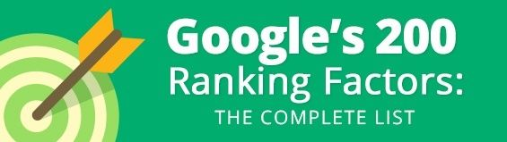 A whole slew of (possible) factors that go into Google's algorithm for SERP