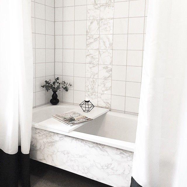 marmor kakel badrum dekorplast - Sök på Google