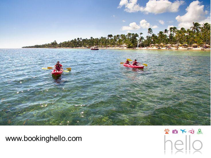 LGBT ALL INCLUSIVE AL CARIBE. Nadie se resiste al encanto de las playas del Caribe dominicano por su entorno relajante y gran variedad de actividades acuáticas que se pueden practicar en ellas, entre las que destacan el paddleboarding, paseos en kayak y catamarán, buceo y snorkeling. En Booking Hello te invitamos a planear tus vacaciones adquiriendo tu pack all inclusive, para relajarte con diversas amenidades y servicios en los resorts Catalonia. #BeHello
