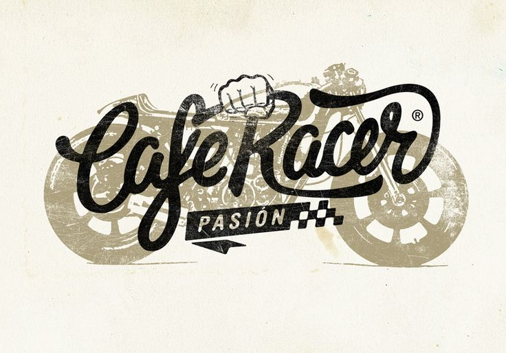 Cafe Racer Pasión Logotype, Spain
