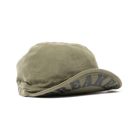 "BEDWIN & THE HEARTBREAKERS ""Ramiro"" Work Cap Olive"