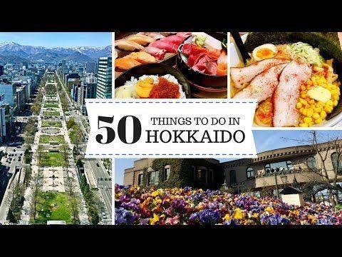 3 Days in Hokkaido - 50 Things to Do in Sapporo & Otaru | JAPAN TRAVEL GUIDE | 日本北海道 - YouTube #JapanTravel3Weeks