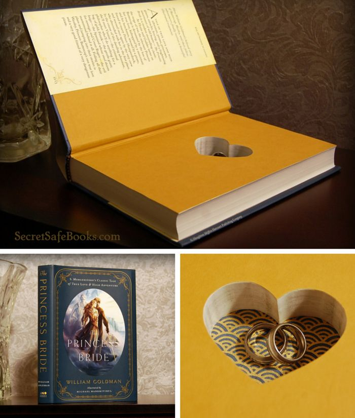 The Princess Bride Ring Bearer Book, $69.99 Free Shipping