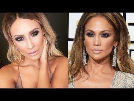 Jennifer Lopez Globes Makeup Tutorial