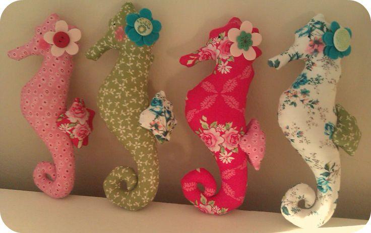 Seahorse pincushions  Sew a little love: Friday Fancies...