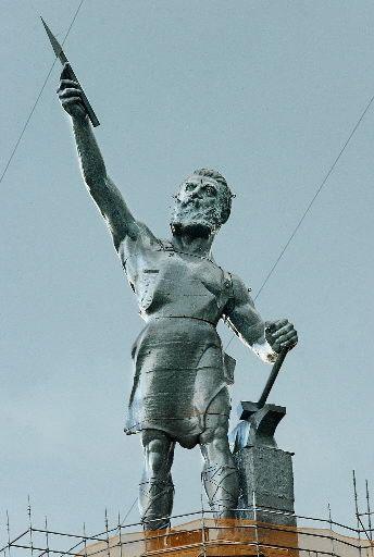 The Vulcan Statue in Birmingham, Ala
