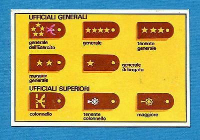 ARMI E SOLDATI - Edis 71 - Figurina-Sticker n. 406 -GRADI AMERICANI ESERCITO-Rec