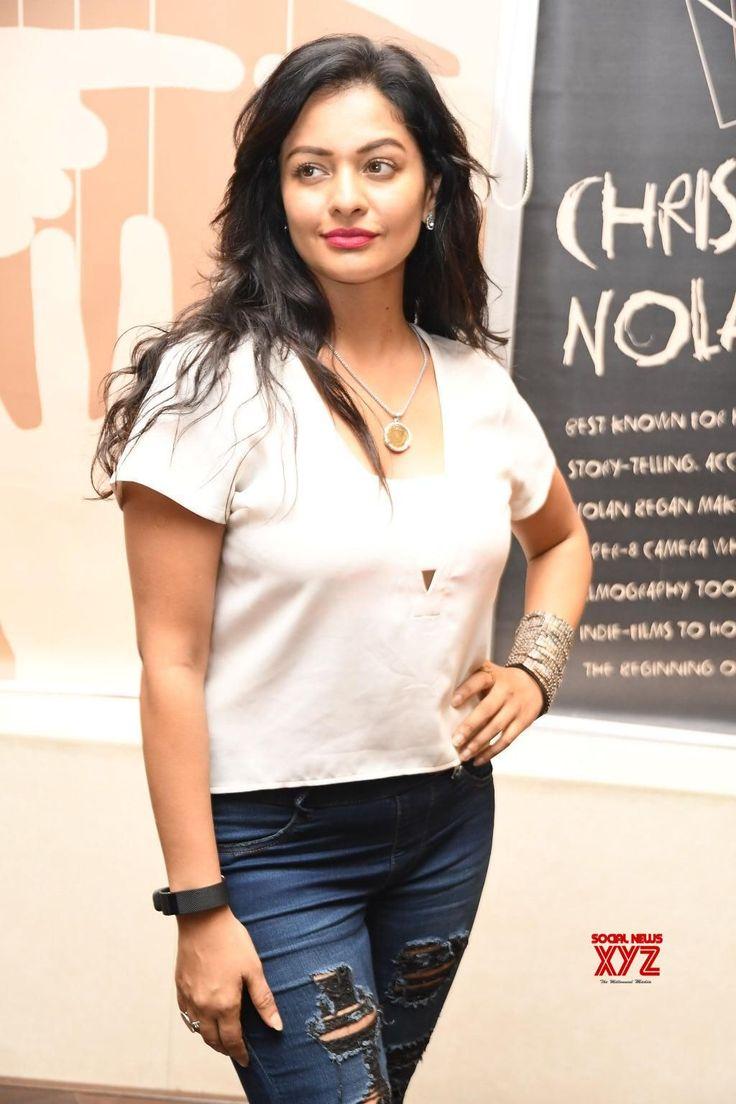 Actress Pooja Kumar Stills From PSV Garuda Vega Movie Trailer Launch - Social News XYZ