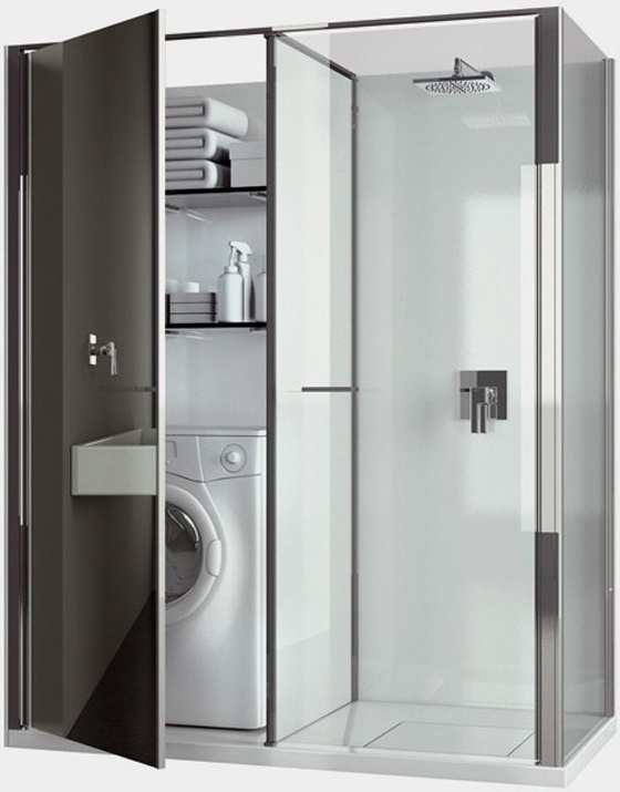 #6 is what i want, shower and washing machine combo