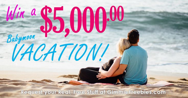 Who Wants to WIN a $5,000 Vacation!? - http://gimmiefreebies.com/who-wants-to-win-a-5000-vacation/ #Baby #Babymoon #Pregant #Sweeps #Sweepstakes #Vacation #Win #ad