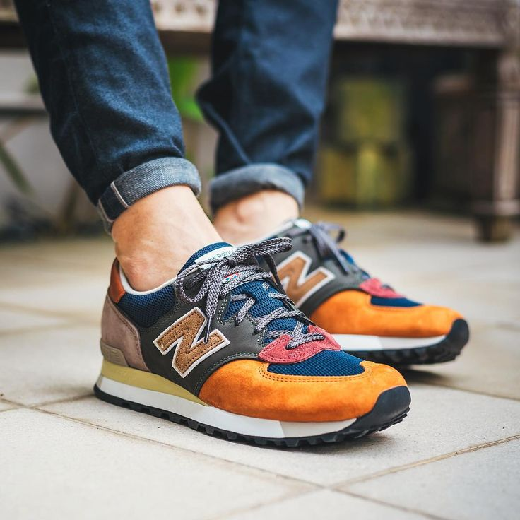 mens new balance 576 orange christmas