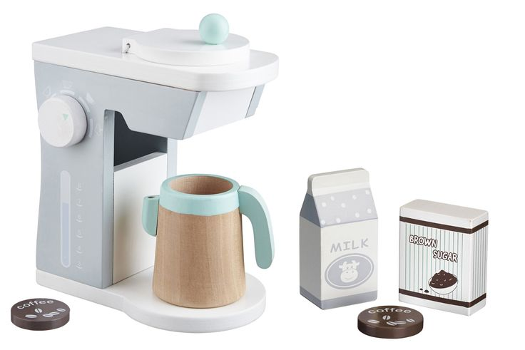 Kids Concept koffiezetapparaat #woodentoys #houtenspeelgoed   PSikhouvanjou