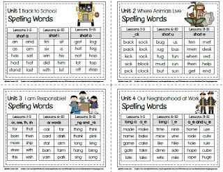 1st grade spelling challenge list SRA - Sailing Through 1st Grade: SRA Imagine It! Spelling and Challenge Lists