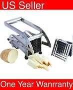 Look what I just bought on eBay: K22 Stainless Steel French Fry Cutter Potato Vegetable Slicer Chopper 2 Blades
