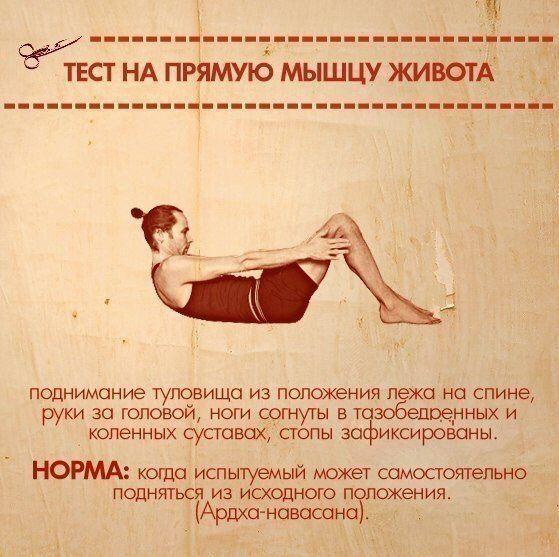 10упражнений, которые покажут ваши слабые места