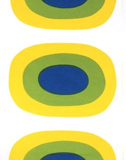 Love Marimekko! Brings back memories of a stretched piece from years ago.