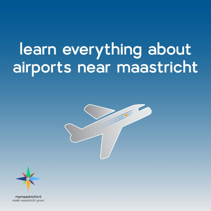 Everything you need to know about airports near Maastricht!  #studyabroad #travel #europe #netherlands