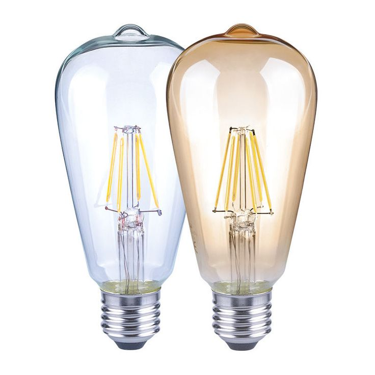 2W Edison Style 2400K ST64 Ceramic Led Filament Bulb E27 CE&ROHS #GMYLighting