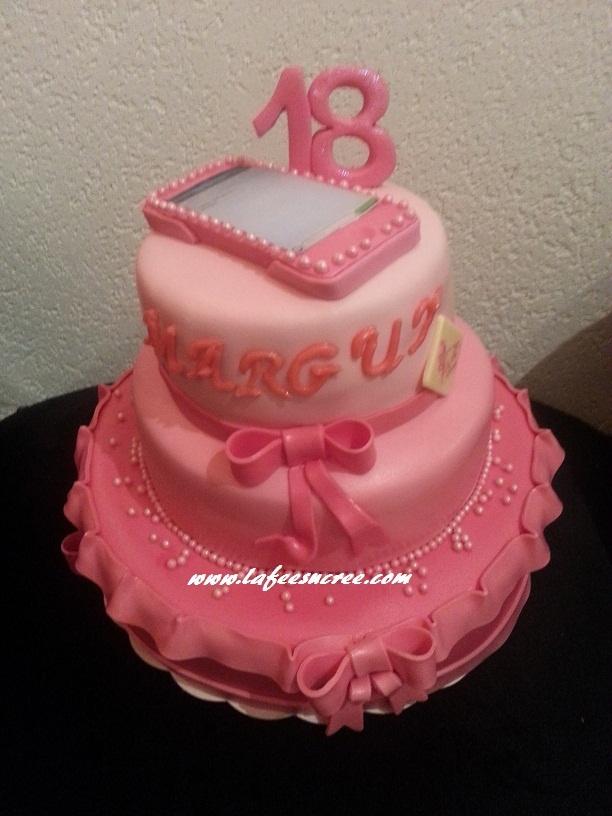 wedding cake 18 birthday  gâteau d'anniversaire