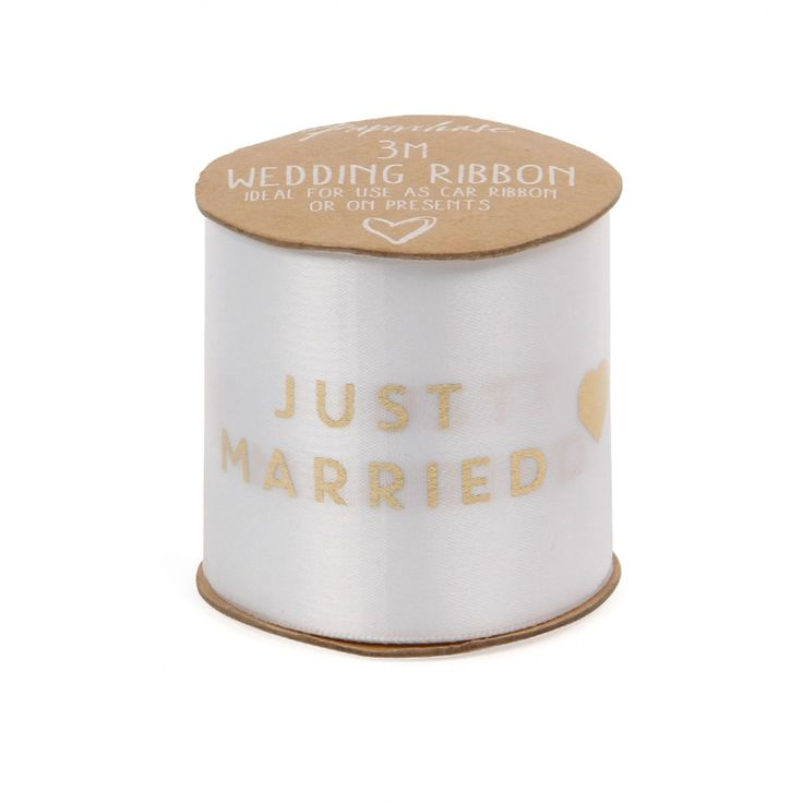 Just married ribbon - 3m